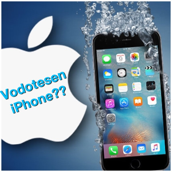 Vodotesen iPhone?